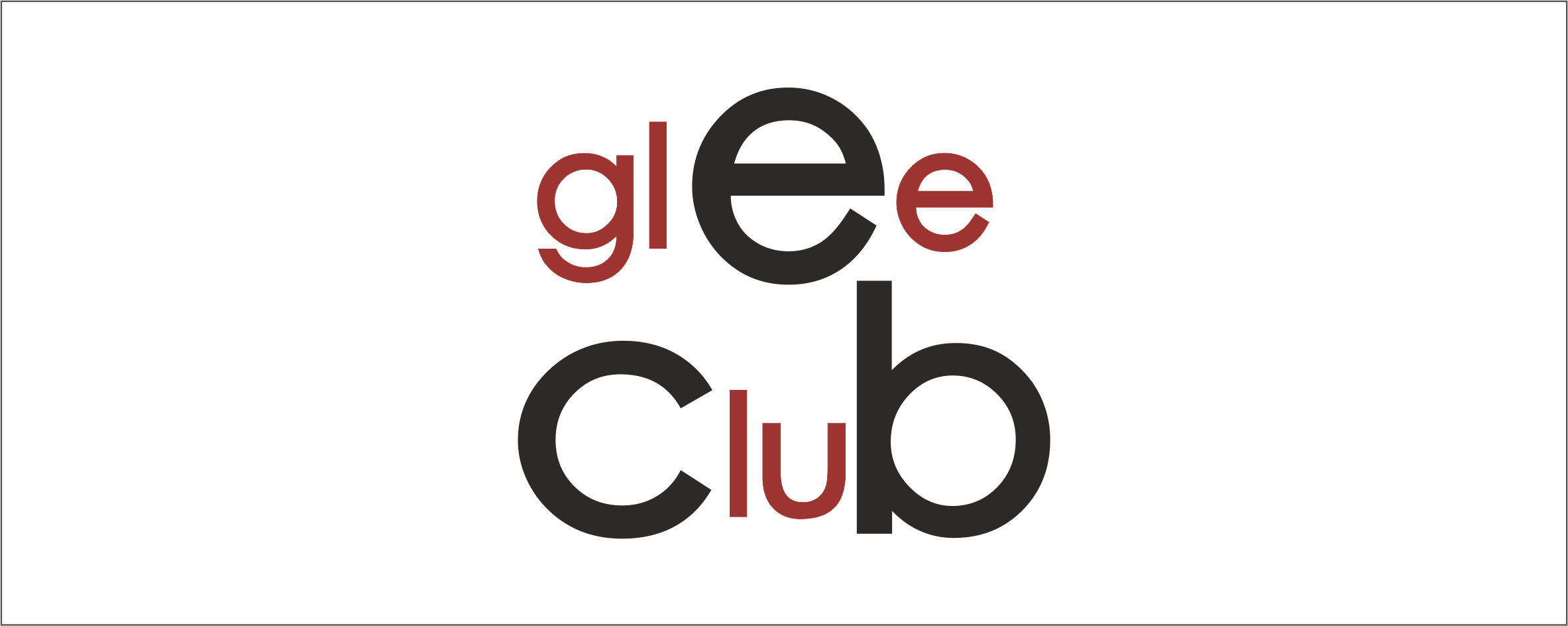 logo glee lateral